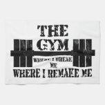 Gym Motivation Kitchen Towels