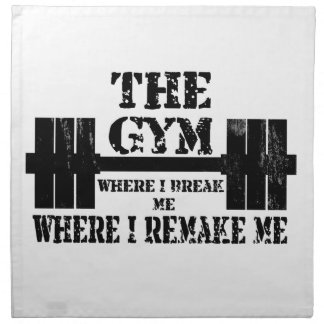 Gym Motivation Napkin