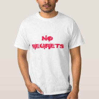 "Gym Motivation ""No Regrets"" Tee Shirt"