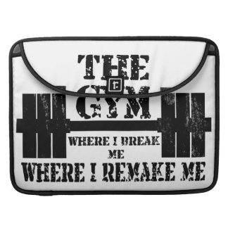 Gym Motivation Sleeve For MacBooks