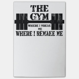 Gym Motivation Post-it® Notes