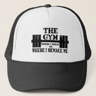 Gym Motivation Trucker Hat