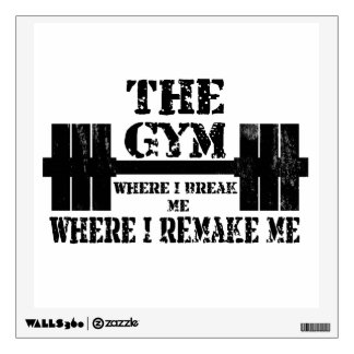 Gym Motivation Wall Decal