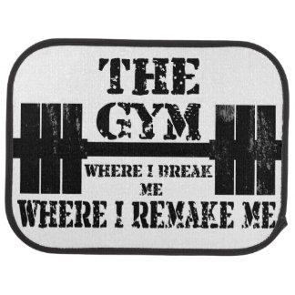 Gym Motivation Floor Mat