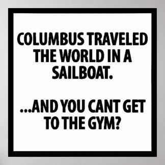 Gym Motivational Poster
