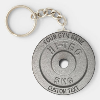 Gym Owner or User Fitness Funny Grey Edition Keychain
