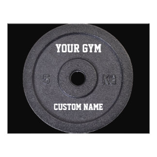 Gym Owner or User Funny Promo Flyer