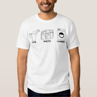 Gym Photo Laundry Tee Shirt