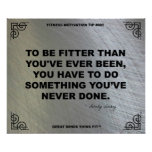 Gym Poster for Fitness Motivation #005