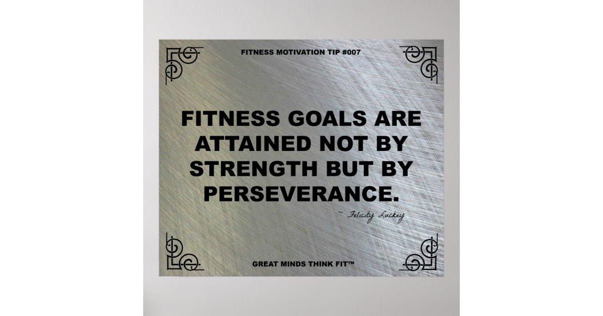 Gym Poster For Fitness Motivation 007 Zazzle Com