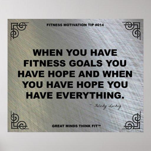 Gym Poster for Fitness Motivation #014