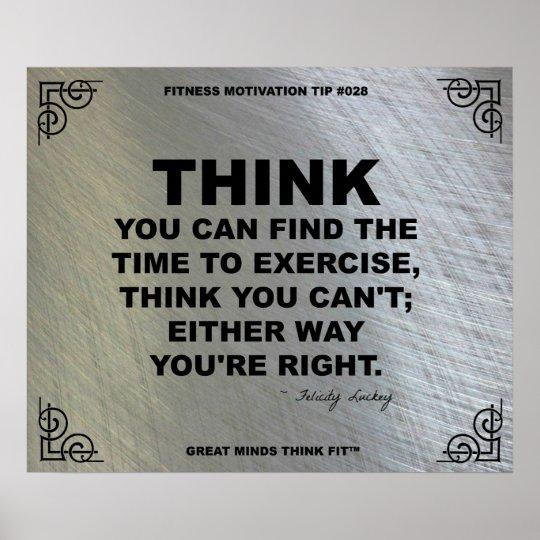 Gym Poster for Fitness Motivation #028