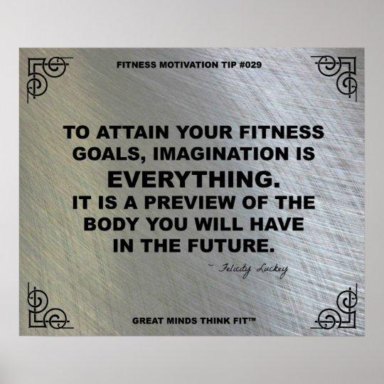Gym Poster for Fitness Motivation #029