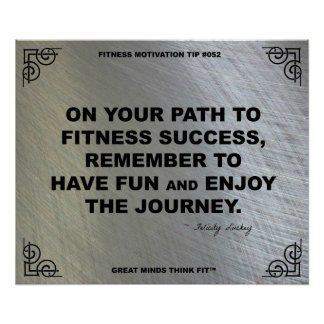 Gym Poster for Fitness Motivation #052