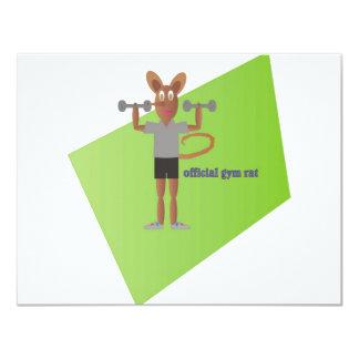 Gym Rat Card