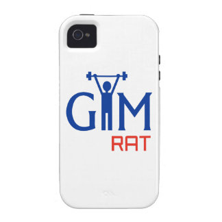 GYM Rat Vibe iPhone 4 Covers