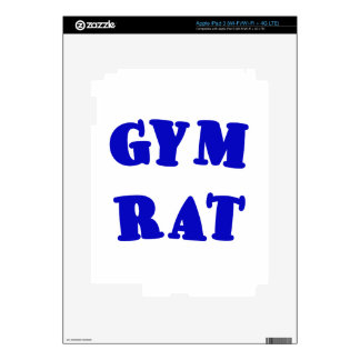 Gym Rat Decal For iPad 3