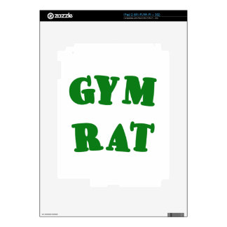 Gym Rat Decal For The iPad 2