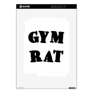 Gym Rat Decals For The iPad 2