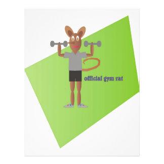 "Gym Rat 8.5"" X 11"" Flyer"