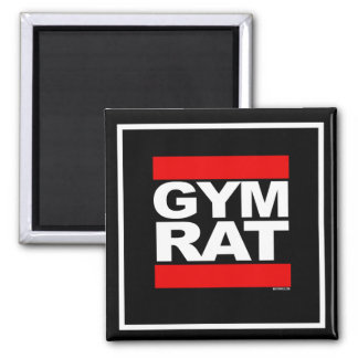 Gym Rat -   - Gym Humor -.png Magnet