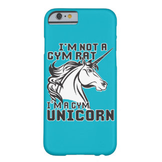 Gym Rat - Gym Unicorn - Bodybuilding Humor Barely There iPhone 6 Case