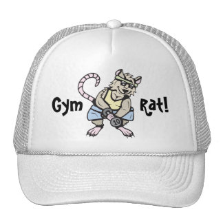 Gym rat! trucker hat