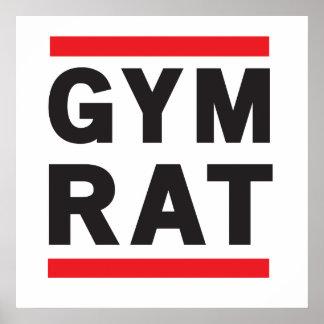 Gym Rat Print