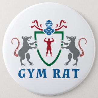 Gym Rat Shield Button