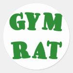 Gym Rat Stickers