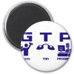 Gym Tan Program Refrigerator Magnets