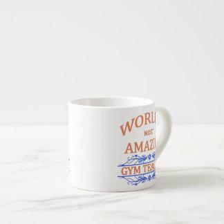 Gym Teacher 6 Oz Ceramic Espresso Cup