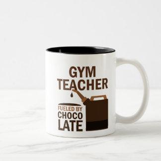 Gym Teacher (Funny) Gift Two-Tone Coffee Mug