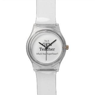 Gym Teacher Wristwatch