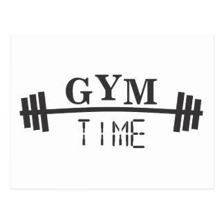 Gym Time Postcard