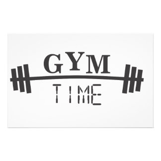 Gym Time Stationery