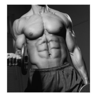 Gym Wall Health Club Poster 3