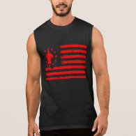 Gym Weightlifting and The Bodybuilder Sleeveless Shirt