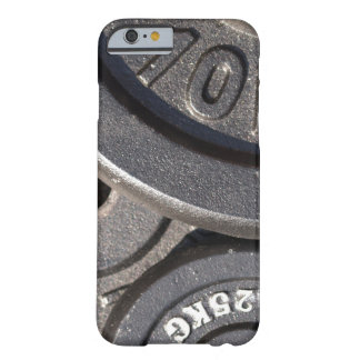 Gym Weights Barely There iPhone 6 Case