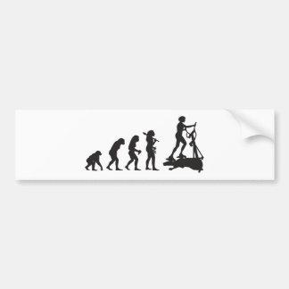Gym Workout Car Bumper Sticker