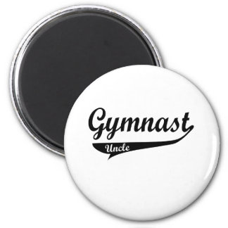 Gymanstic Family Swoosh Male 2 Inch Round Magnet