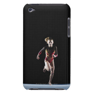 Gymnast (12-13) running on mat barely there iPod covers