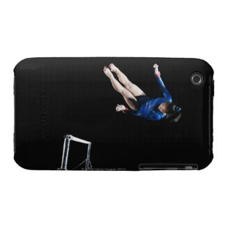 Gymnast (16-17) dismounting uneven bars Case-Mate iPhone 3 case