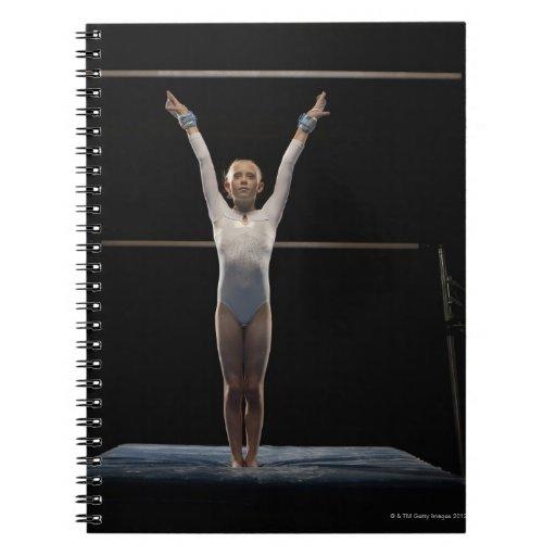 Gymnast 2 spiral notebook