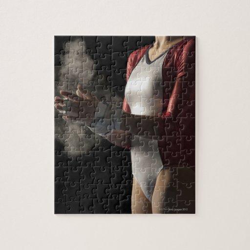 Gymnast 3 jigsaw puzzles
