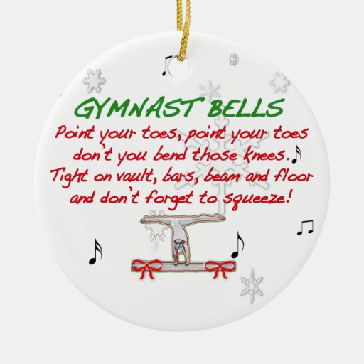 Gymnast Bells Ornament