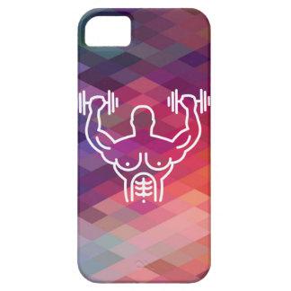 Gymnast Biceps Minimal iPhone SE/5/5s Case