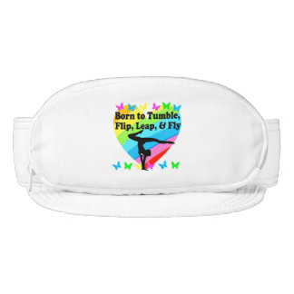 GYMNAST BORN TO TUMBLE AND FLY DESIGN VISOR