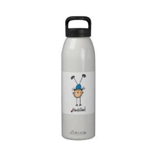 Gymnast Doing Handstands Reusable Water Bottle