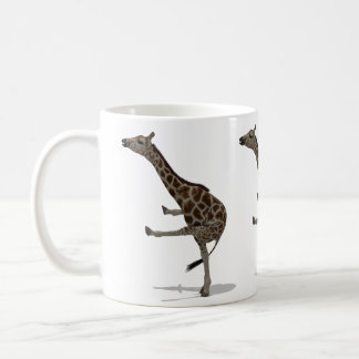 Gymnast Giraffe Coffee Mug